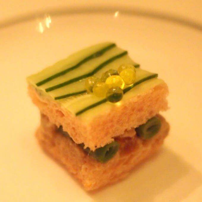 ツナと胡瓜のサンドイッチ