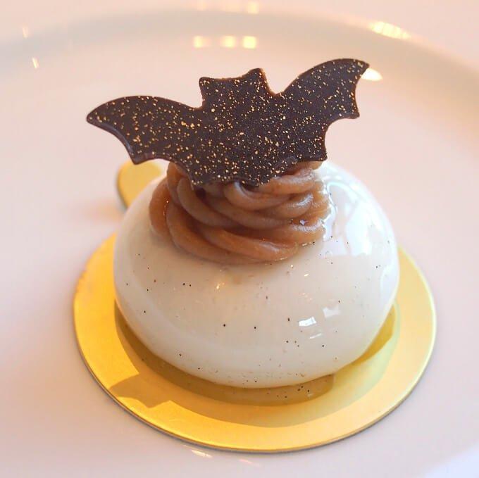茨城県産栗のモンブランモンブランと言っても、ムース仕様でかなりさっぱりめ。