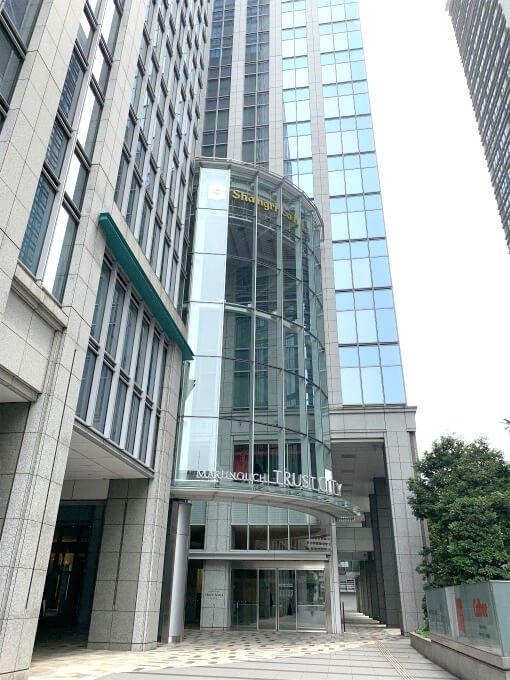 シャングリラ ホテル東京の外観