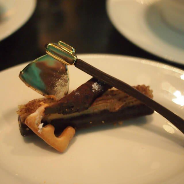 マロンのミニブッシュこれ美味しかったな!!!斧は食べられません(笑)