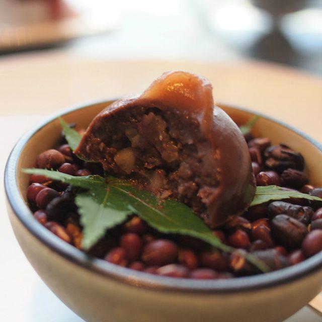 羊羹 ショコラ 蒸し栗は羊羹とチョコレートの合わせ方のバランスが絶妙で美味しかったし、