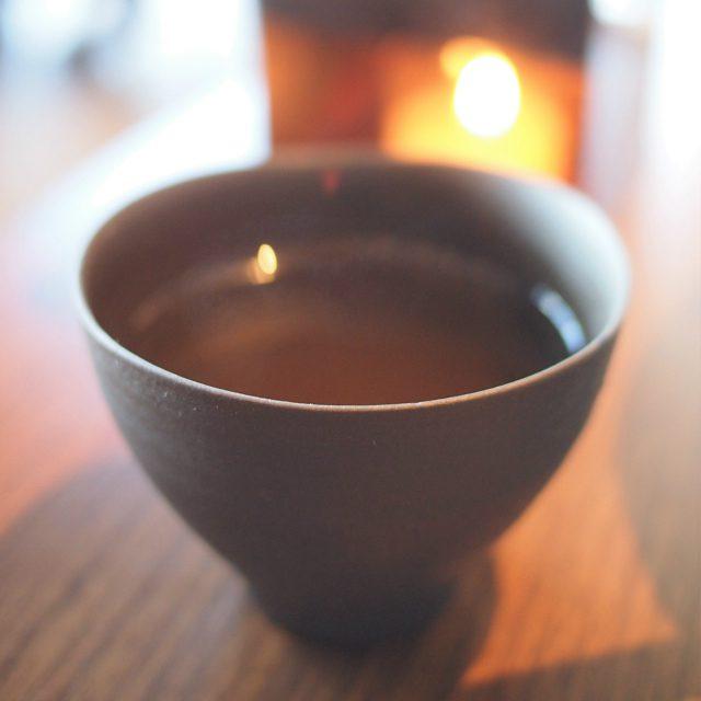 今月の日本茶この日は「阿波番茶」ちょっと癖のあるお番茶です。
