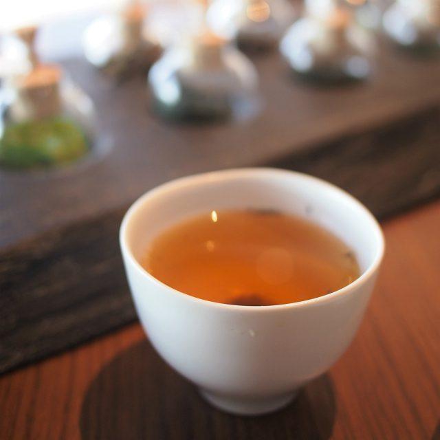 ほうじ茶キレのある渋みと甘みのバランスが美味しい