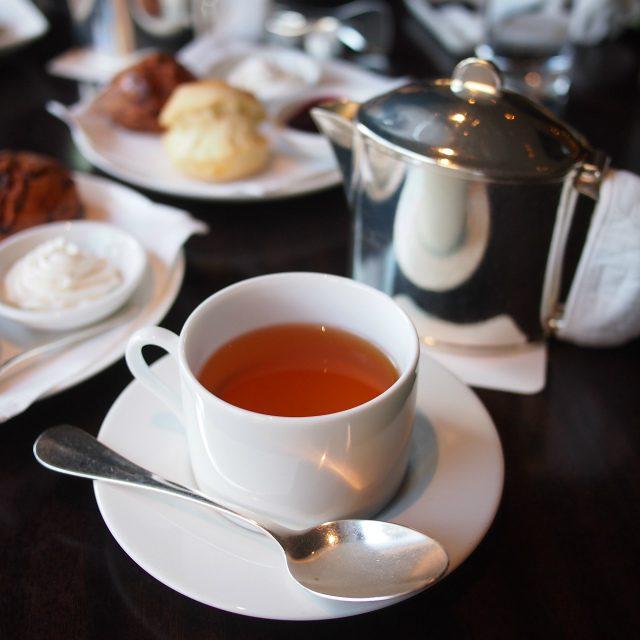 ラズベリーネクタールイボスベースでほんのり甘くて飲みやすいお茶。