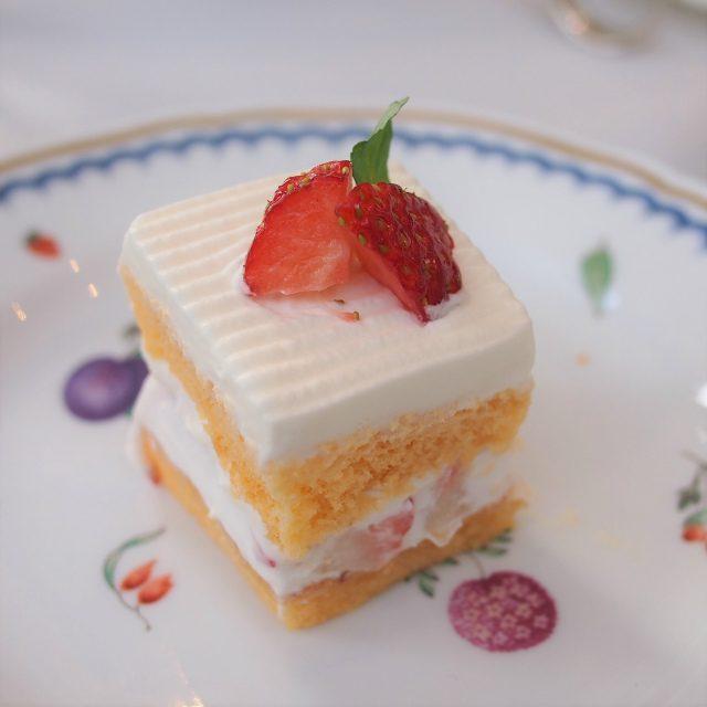 ショートケーキ優しい味わいのショートケーキ、スポンジも生クリームもとっても美味しかった!