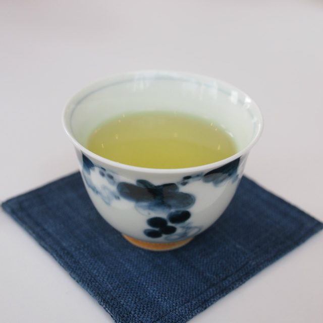 こちらは日本茶です。