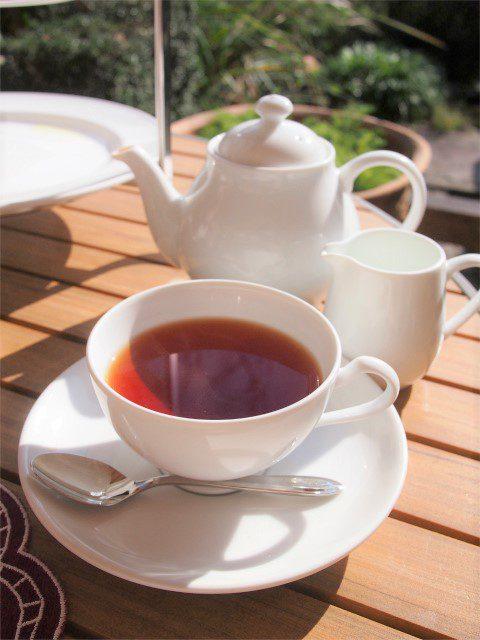 美味しい紅茶だったので、おかわりも迷わず紅茶にしました!