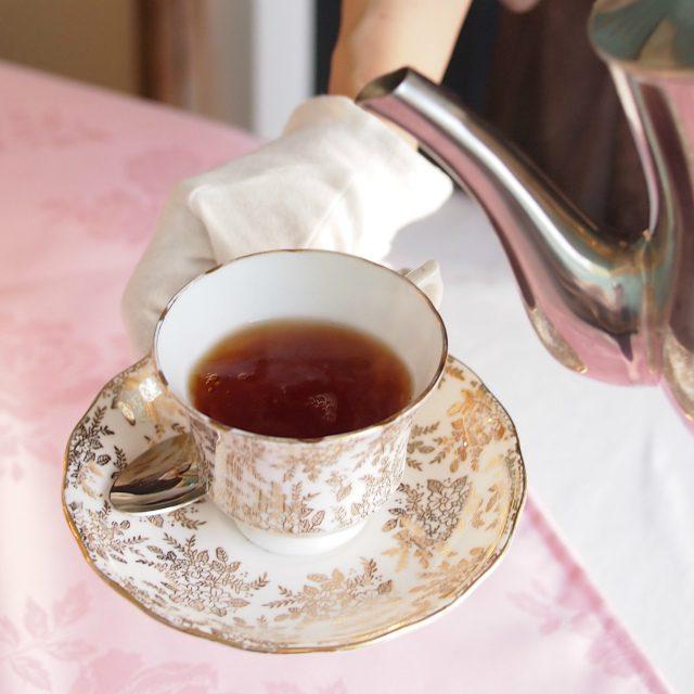 ダージリン 1杯目の紅茶はダージリン。