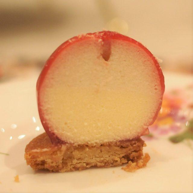 リンゴの中は層になっていました!