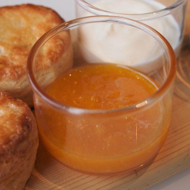 蜜柑のジャムこれもとっても美味しかったです!オレンジじゃなくてちゃんと蜜柑を感じられる優しい味でした!