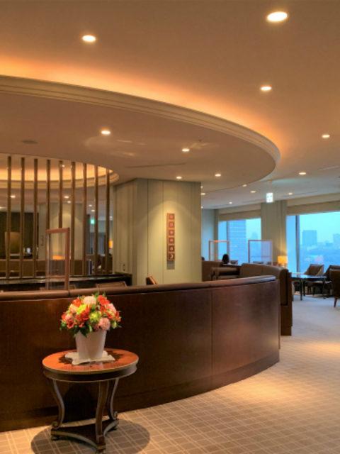 帝国ホテル インペリアルラウンジ アクアの内装