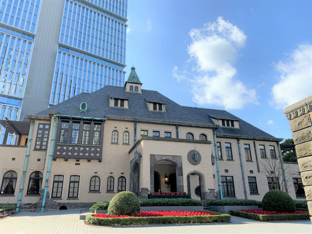 La Maison Kioi(ラ・メゾン・キオイ)が入っている赤坂プリンス クラシックハウスの外観