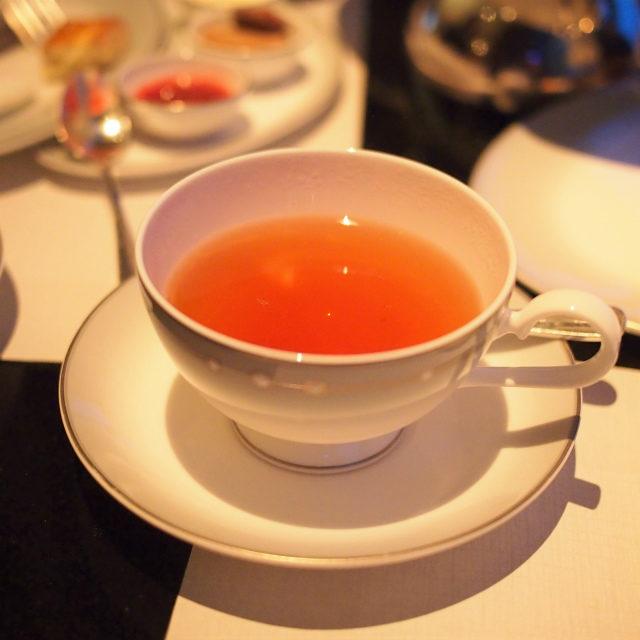 ブーケロイヤル緑茶とジャスミンティーにマスカットの香りを付けたフレーバーティー