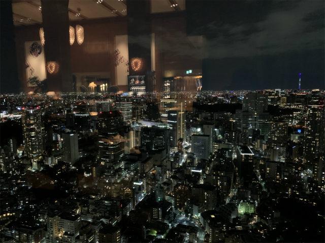 ザ・ロビーラウンジは45階に位置しているので窓からの眺めも素敵です。