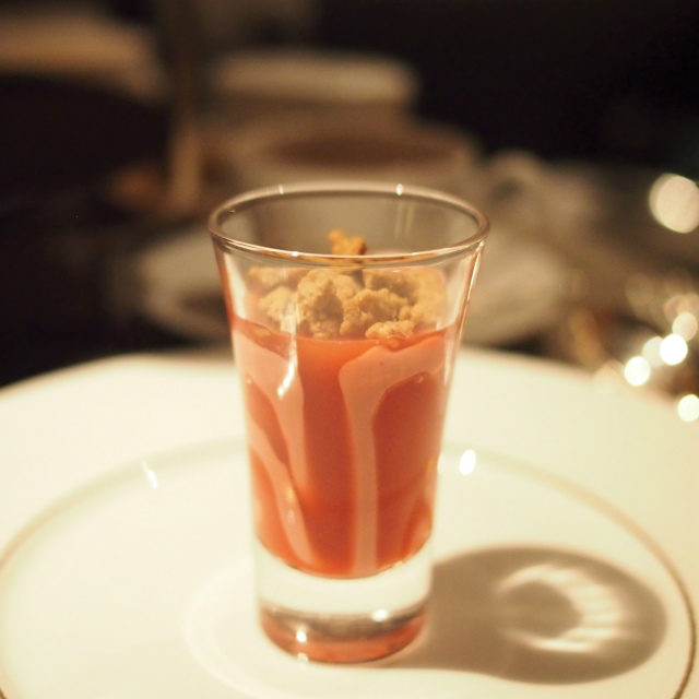 ヴェリーヌ・フレーズ・オランジュ・サンギーヌストロベリーチョコレートとブラッドオレンジを合わせたヴェリーヌ