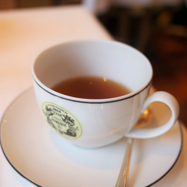PARIS BREAKFAST TEA バニラと柑橘とお花の香りの緑茶のフレーバーティー