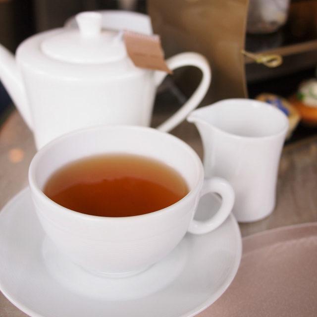チョコレート ミルクティーにするとよりおいしく感じる紅茶でした。
