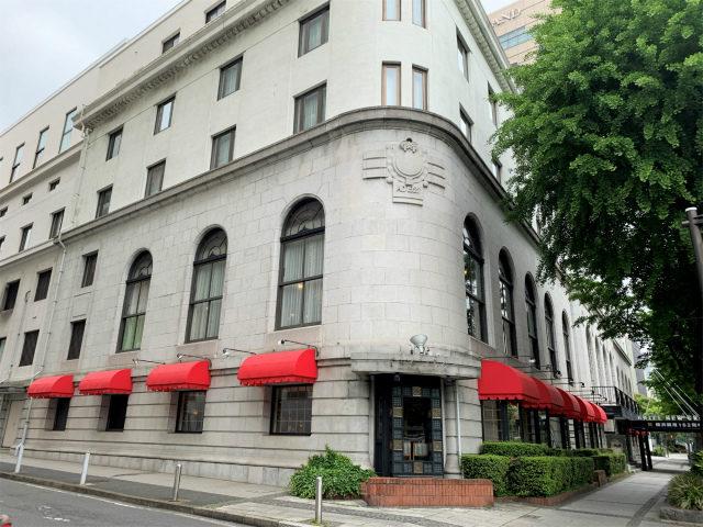 横浜のクラシックホテル「ホテルニューグランド」の外観