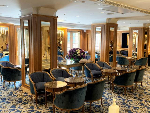 ホテルニューグランド「ラ・テラス」の内装
