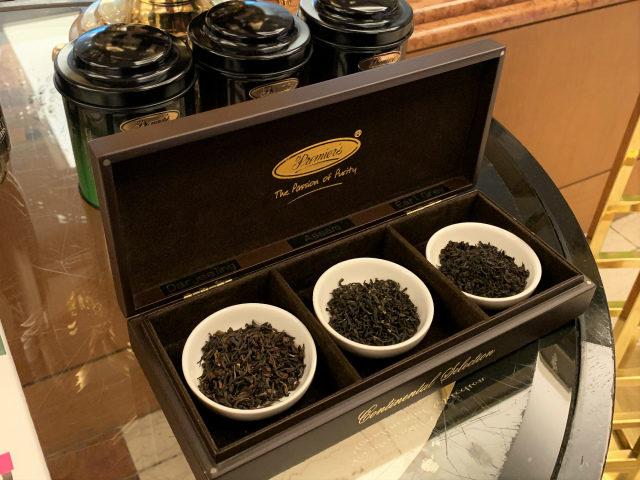 ダージリンとアッサムとアールグレイはプリミアスティーの紅茶です。