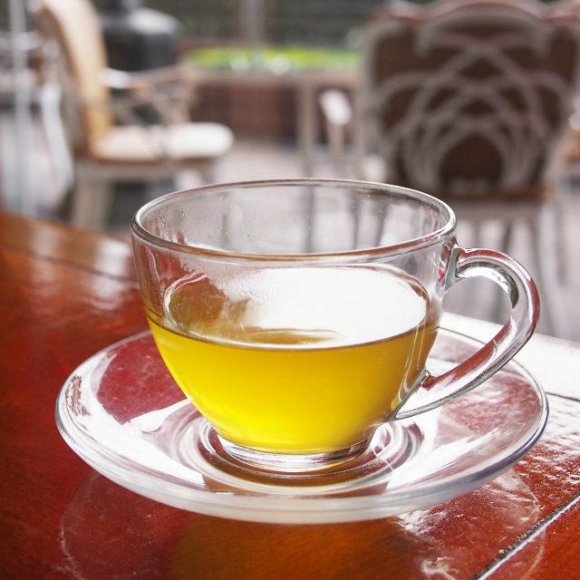 メロン緑茶メロンと緑茶って合うんですね!
