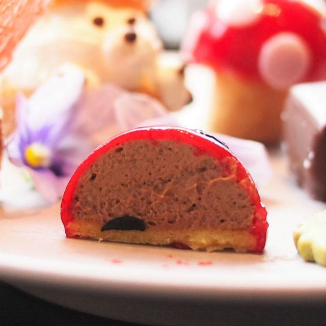 てんとう虫はチョコレートムース