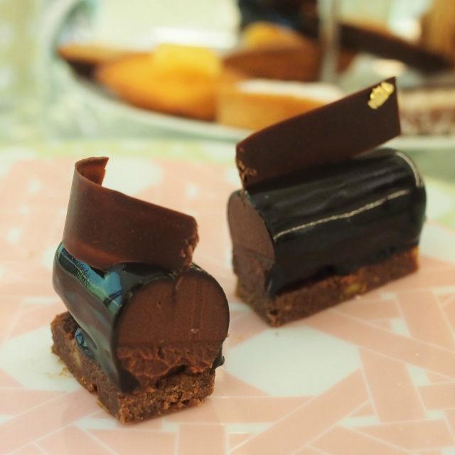 ケーキじゃなくて、チョコそのものを食べているような濃厚さでした!