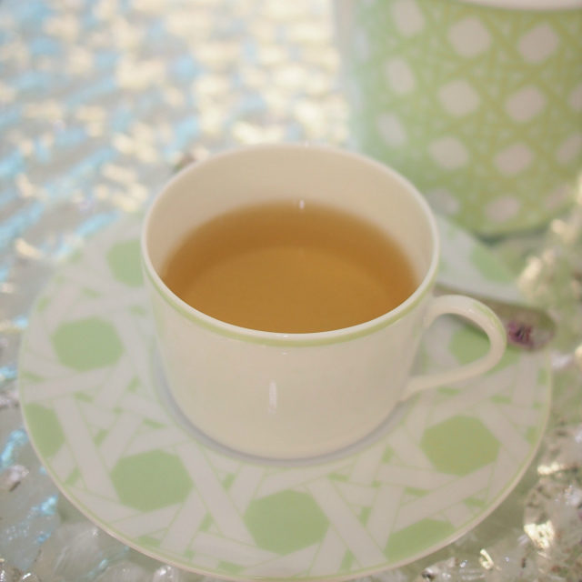 ディオールティー モンテーニュローズとジャスミンの緑茶のフレーバーティー