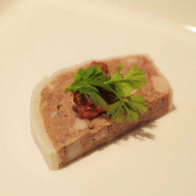 パテドカンパーニュ カシスマスタードカシスマスタードがとっても美味しかったです!