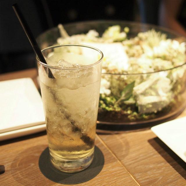 モロッカンミントティー ダンボではすべての紅茶をアイスにしてもらえます。