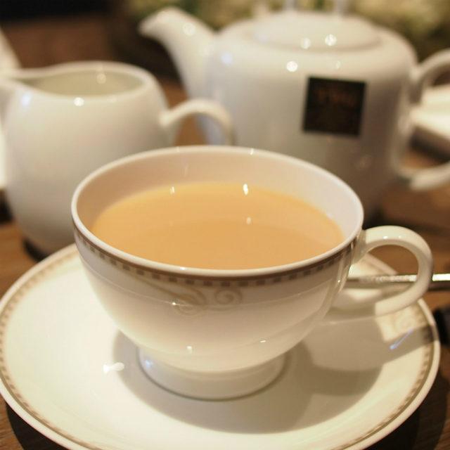 今回、唯一ミルティーに合う紅茶でした! スコーンとの相性ばっちり♡