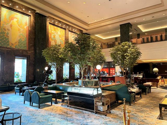ホテルイースト21東京「ロビーラウンジ」の内装