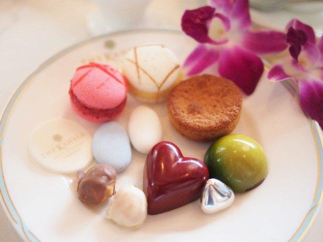 1人分のお菓子の宝石箱のミニャルディーズ