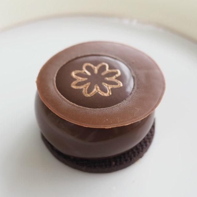 チョコレートとフランボワーズのムース