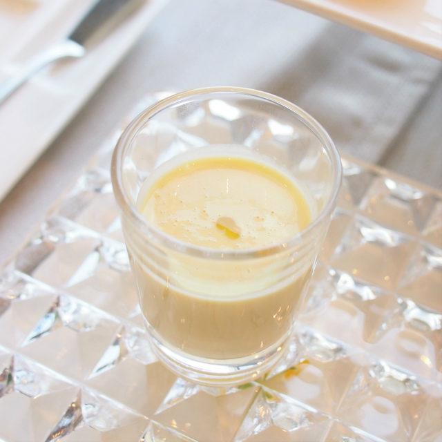 玉蜀黍と有機豆乳のポタージュ
