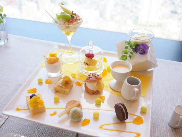 sunshinecruise afternoontea sweets01