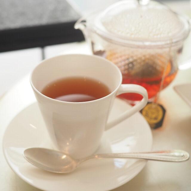マルコポーロマリアージュフレールを代表する紅茶。フルーツとお花、バニラの香りのフレーバーティーです。