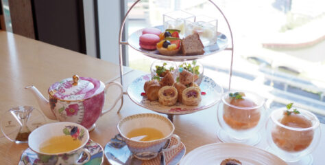 iconic shiodome peach afternoontea01
