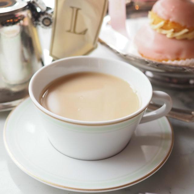 テ・メランジュ スペシャル ラデュレはミルクティーにしても美味しかったです。