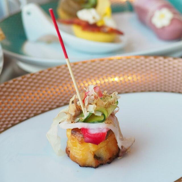 たこのカヌレ ラルド・ディ・コロンナータ 花かつおカヌレなのに、お味は「たこ焼き」そのものでした!