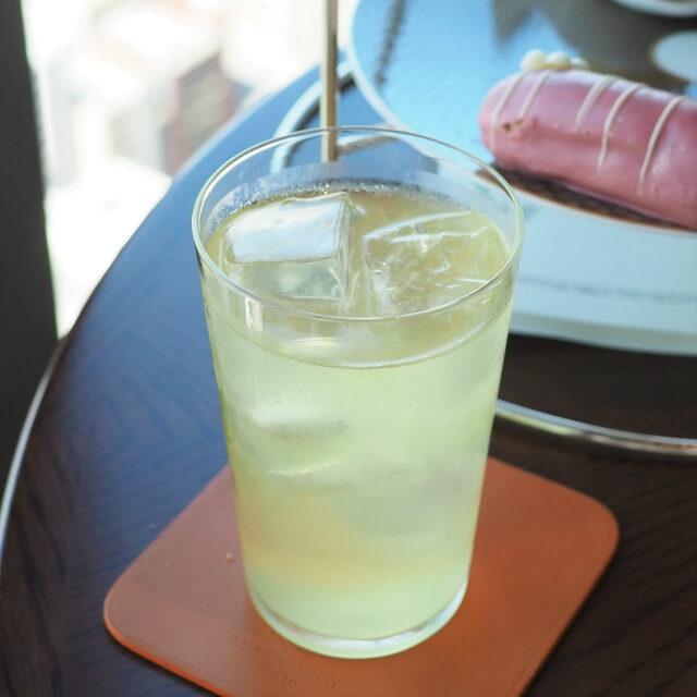 ハツコイ緑茶にレモングラスを加えたアイスティー向きのお茶