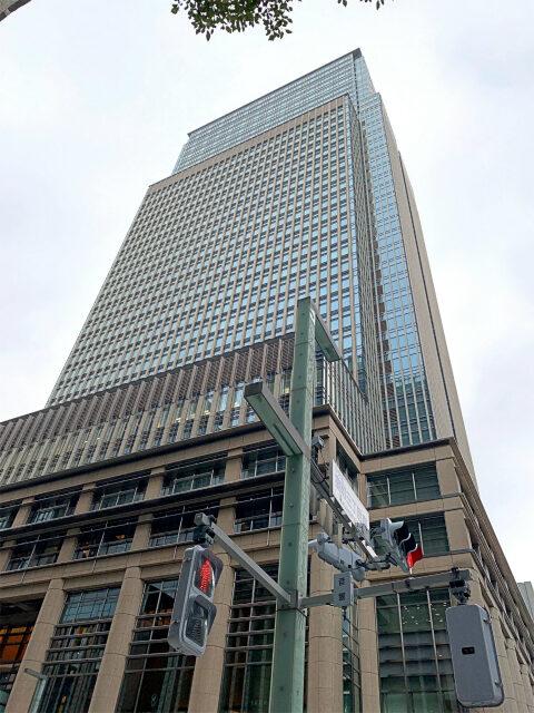 マンダリンオリエンタル東京が入っている日本橋三井タワーの外観