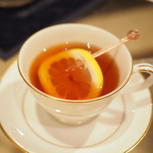おすすめされたので、ディンブラはレモンティーにもしてみました!美味しい!