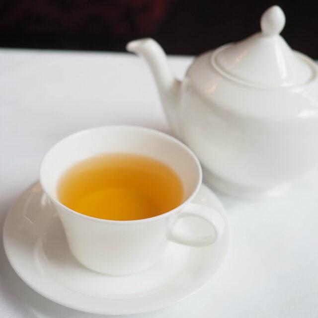 ピーチガーデンジャスミン茶と煎茶のベースに桃の香りを付けたフレーバーティー