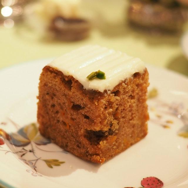 キャロットケーキ樹里さんが日本で再現するのに苦労したというキャロットケーキ。