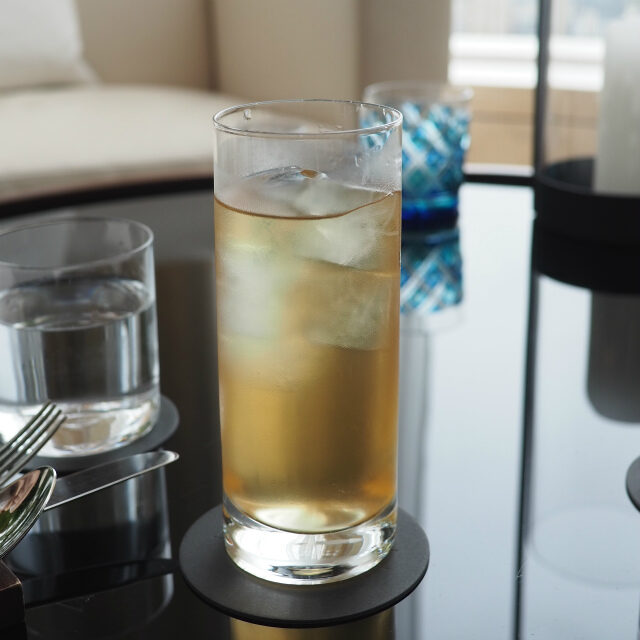 ブリティッシュクーラー(ルピシア)ダージリンをベースにレモン、ライム、ミントで香り付けしたフレーバーティー