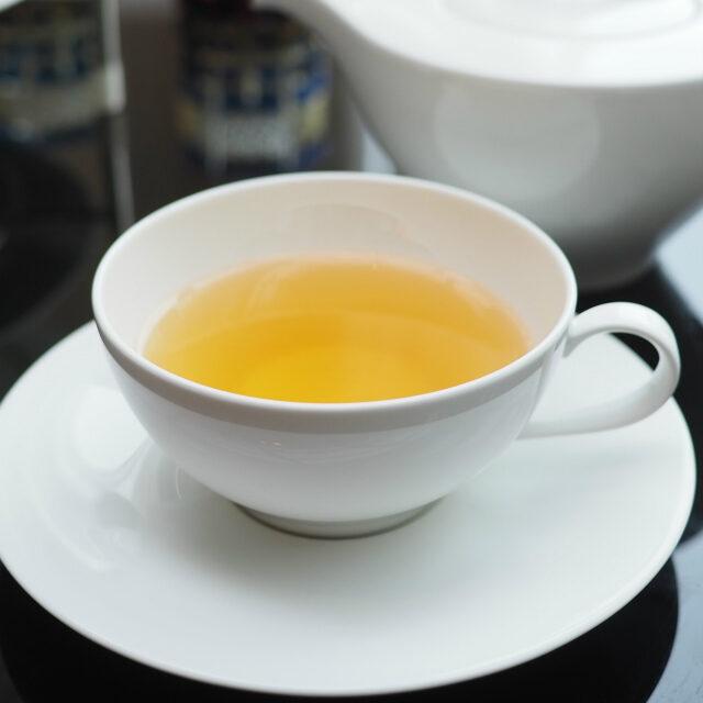 ペアーツリーグリーン(TEALEAVES)洋ナシの香りの緑茶ベースのフレーバーティー