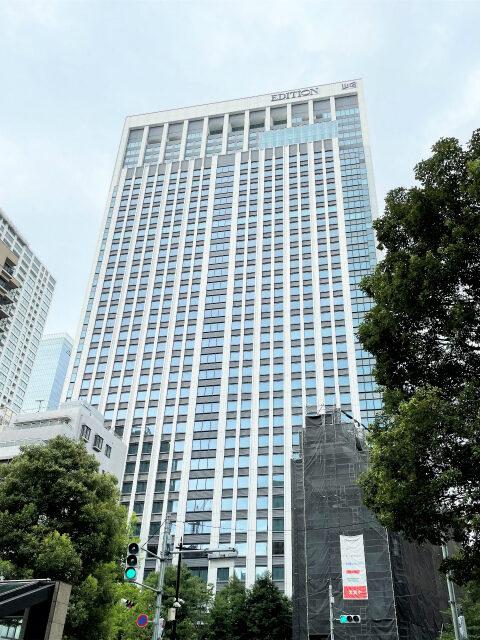 東京エディション虎ノ門の外観