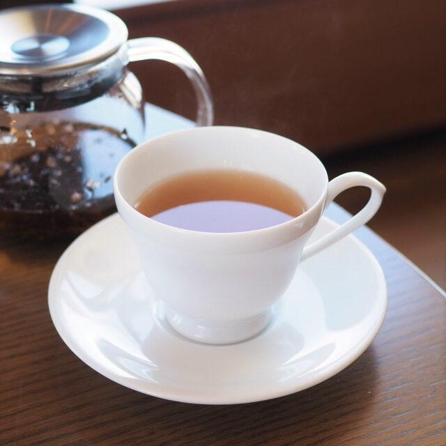ローズ&ビューティーバラとライチの紅茶。これめっちゃ美味しい!