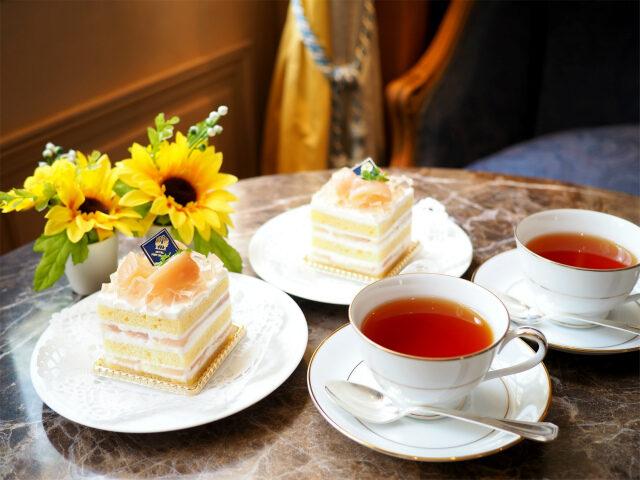 ホテルニューグランド「ラ・テラス」スペシャルショートケーキと紅茶